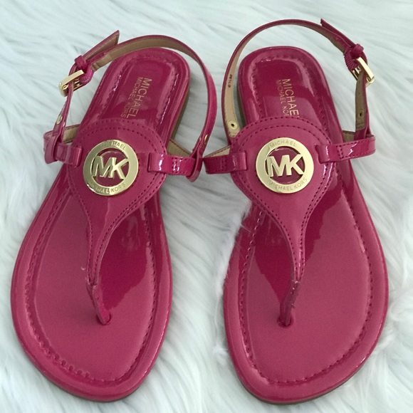 New Michael Kors Pink Sandals